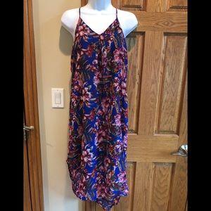 Mary & Mabel Hi-Low Floral Dress